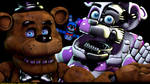 [FnaF-Sfm Poster] ''Clearly best friends''