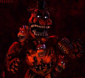 [FnaF-Sfm Poster] Nightmare Freddy