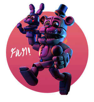 [FnaF-Sfm Poster] Oh birthday boy!