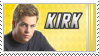 Stamp: Cap'n Kirk by black-lupin