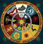 ASoIaF - Nine Houses of Westeros