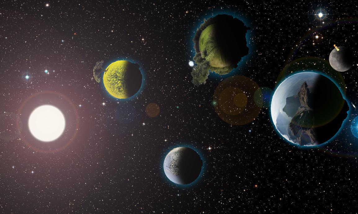 Solar system by nachotp on DeviantArt
