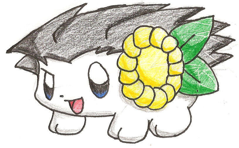 Shaymin Wright by plushietoon