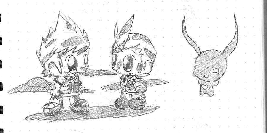 Muddy Guys by plushietoon