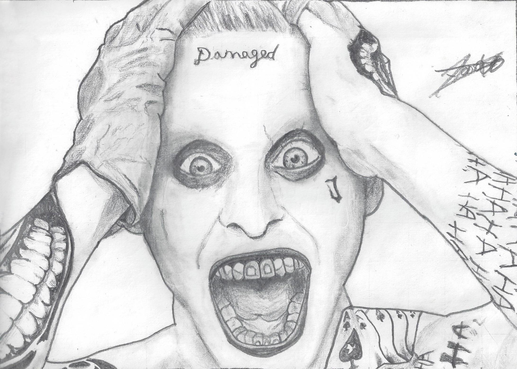 The Leto's Joker (Drawing) By DemoskOmicron On DeviantArt