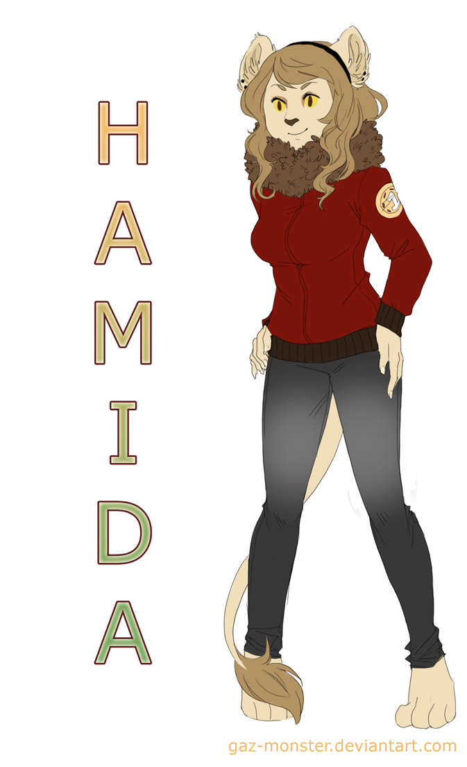 Commission: Hamida by Gaz-Monster