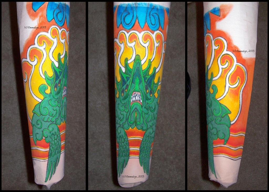 Kaiju tattoo