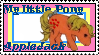 G1 MLP AppleJack stamp by GundamCat