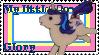 G1 MLP Glory stamp by GundamCat