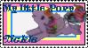 G1 MLP Tickle stamp by GundamCat
