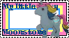 G1 MLP Moonstone stamp by GundamCat