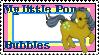 G1 MLP Bubbles stamp by GundamCat