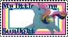 G1 MLP Sunlight stamp by GundamCat