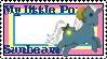 G1 MLP Sunbeam stamp by GundamCat