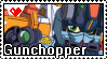 SDGF Gunchopper stamp by GundamCat