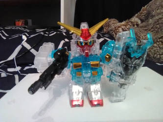 Crystal Captain Gundam kit