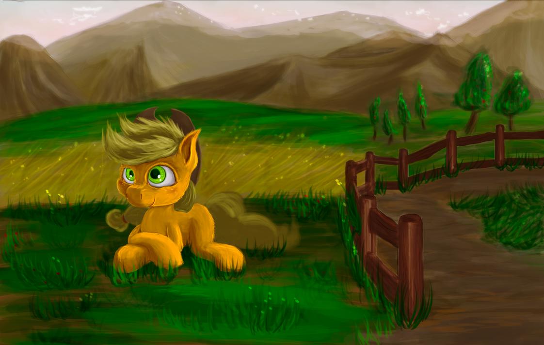 Applejack by Critzie