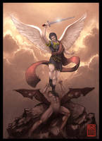 Michael The Archangel by steeldolphin