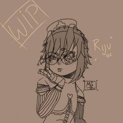 Ryu Tsubashi OC WIP