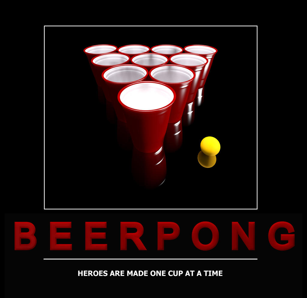 Wallpaper Beer Pong