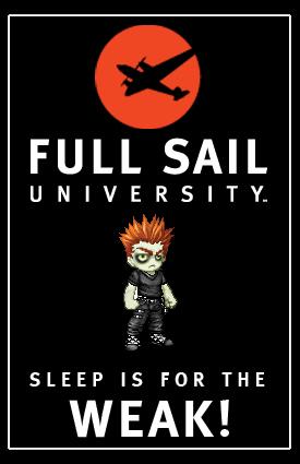 Full sail university creative writing