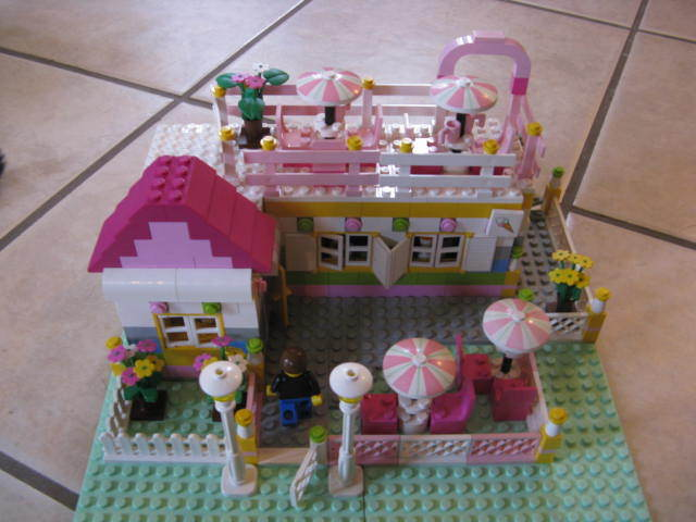 lego cafe by captain-awful