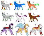Wolf Adoptables 13