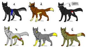 Ninja Wolf Adoptables