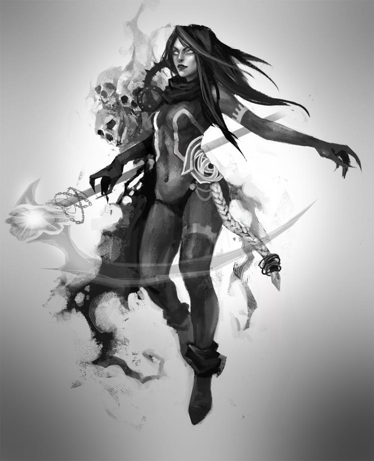 FEZ : Sorcerer, Necromancer by suishou