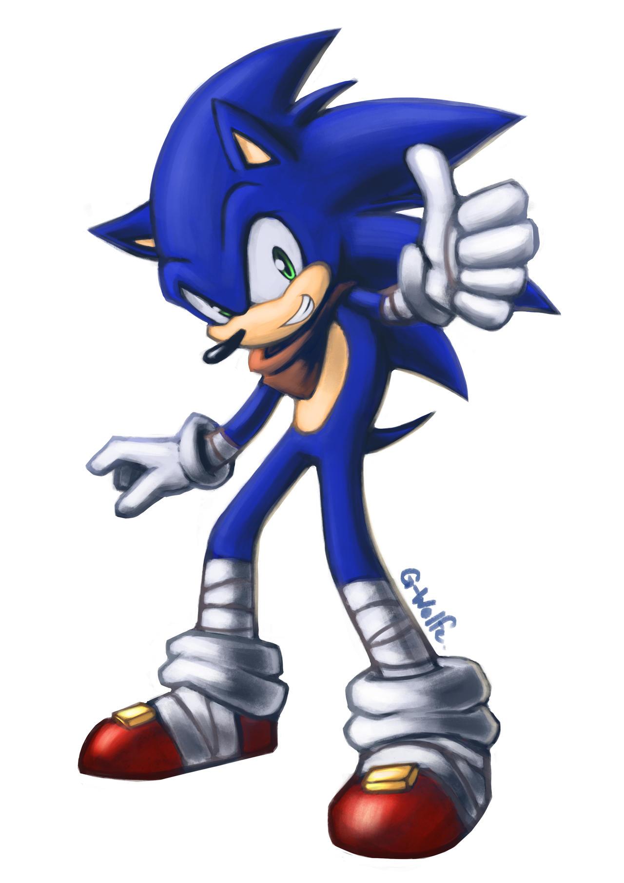 Sonic boom by g wolfe on deviantart - Sonic boom shadow ...