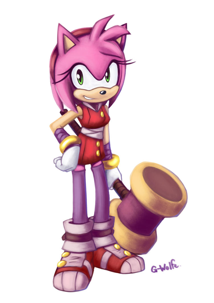 Amy Boom by G-Wolfe