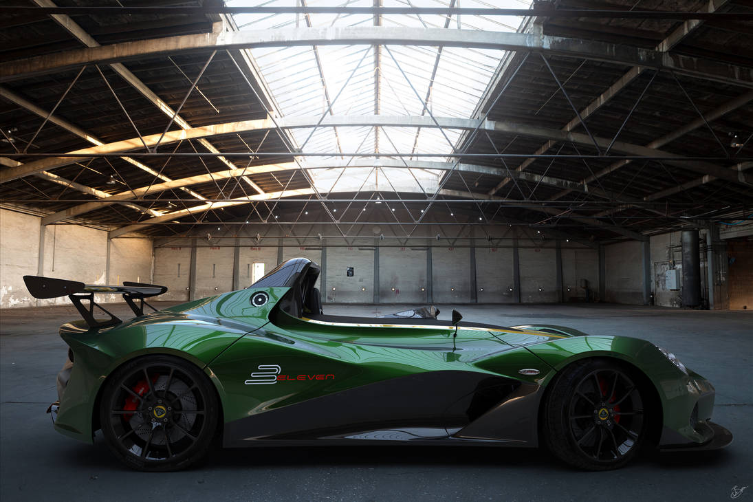 Lotus 3 Eleven  Side View