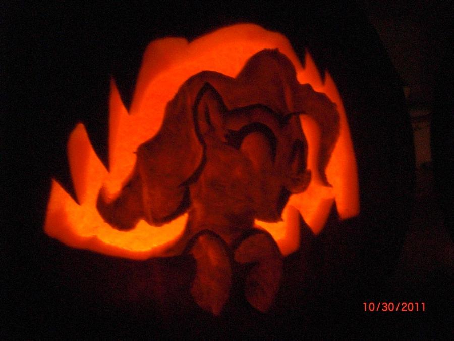 Pinkie Pie Pumpkin Stencil Giggle at the Ghostie Pumpkin