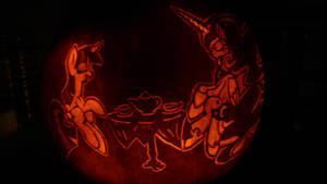 Nuit Lunaire Pumpkin Carving by Originalham