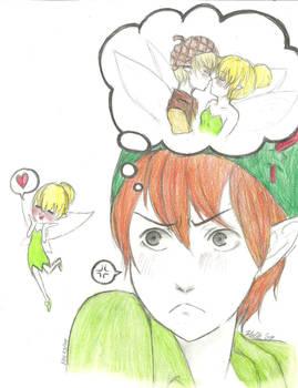 Peter Pan is Jealous