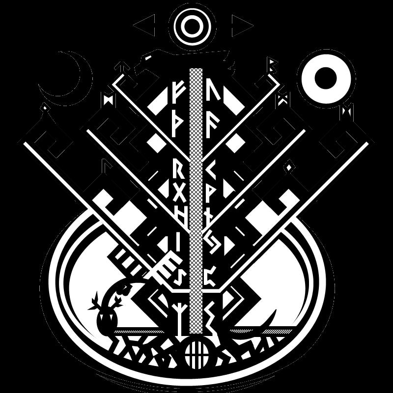 Yggdrasil: The World Tree by TwaRavenMotifs on DeviantArt