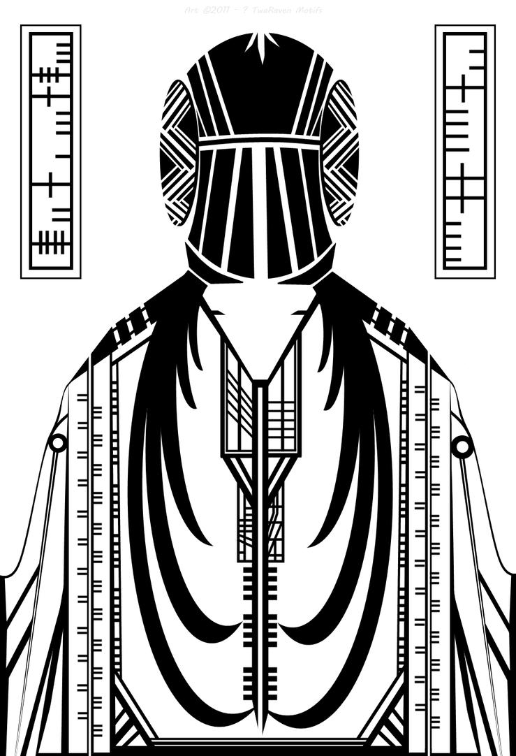 Priestess of the Alphabet by TwaRavenMotifs