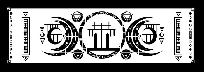 Banner of Luna-Danu by TwaRavenMotifs