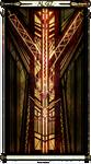 Algiz, the Elk-Rune by TwaRavenMotifs