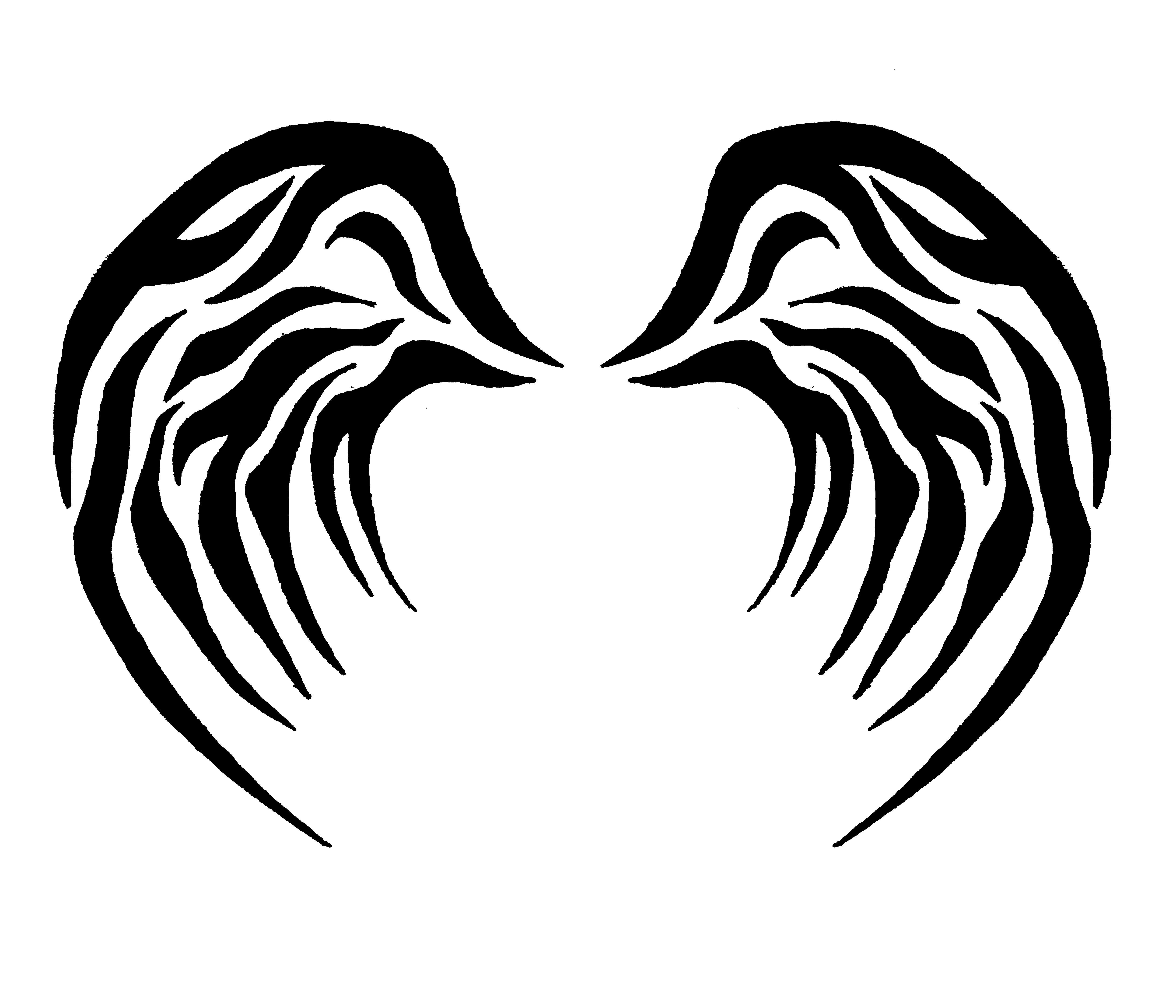 tribal wings 2 by jaytori129 on DeviantArt
