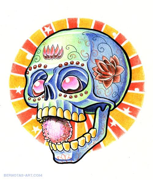 Sugar Skull by Ignitron
