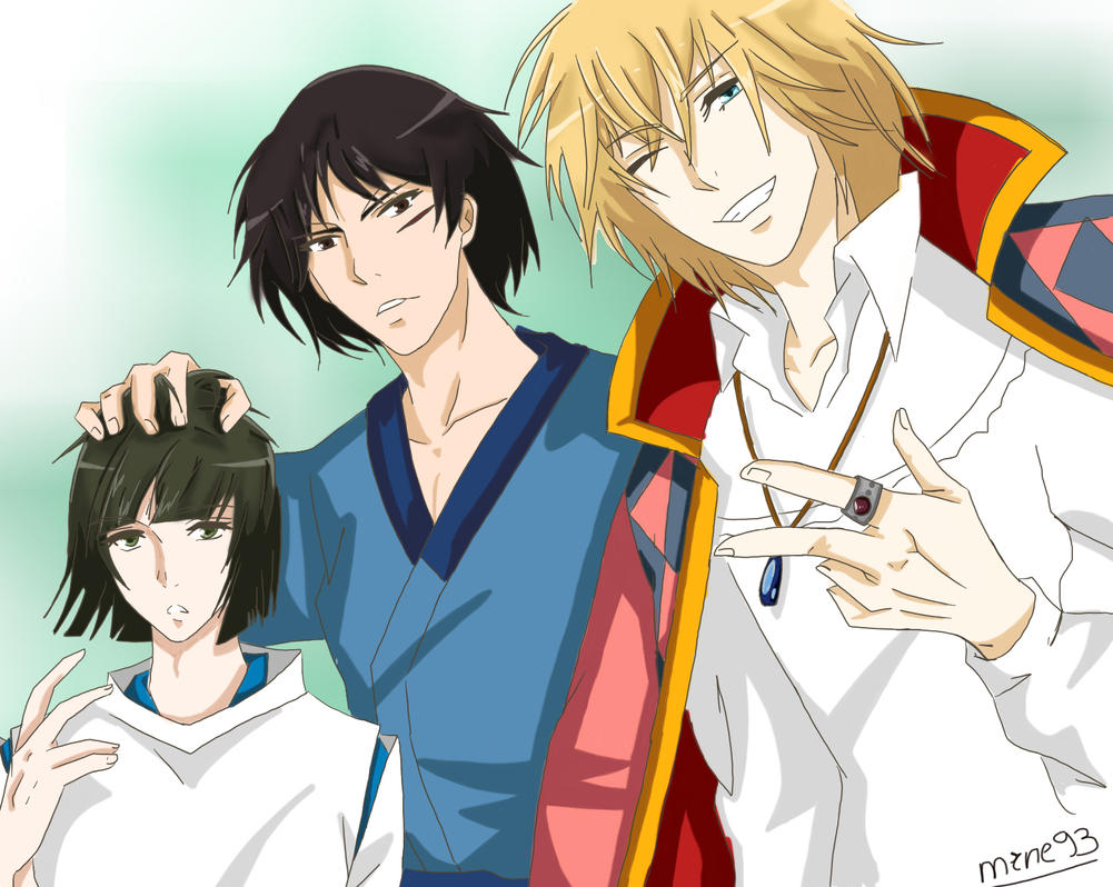Howl, Ashitaka and Hak...