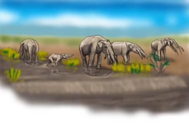 Gompho herd by unlobogris