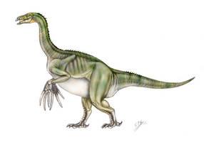 Therizinosaurus cheloniformis by unlobogris