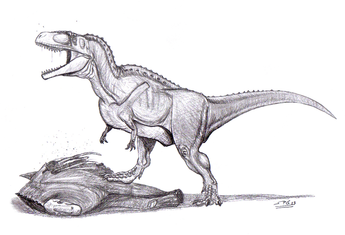 Tyrannotitan chubutensis by unlobogris