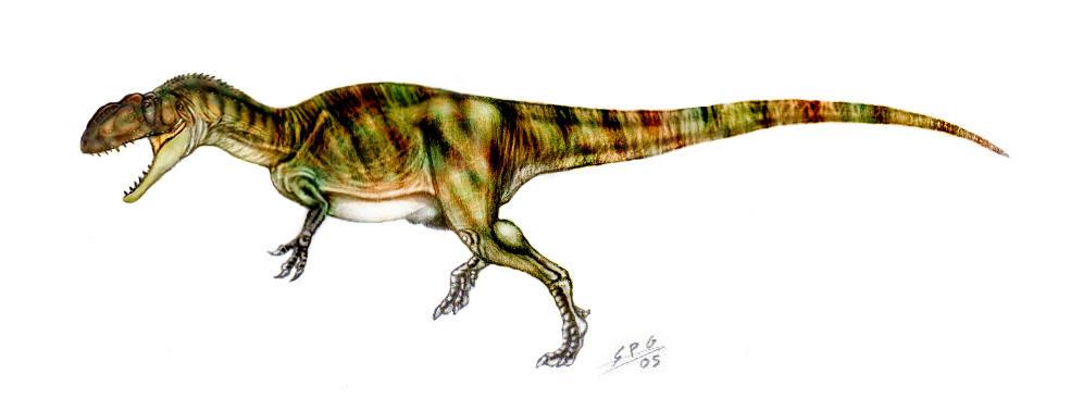 Yangchuanosaurus shangyouensis by unlobogris