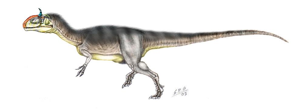 Cryolophosaurus Ellioti Pictorial Dinosaur Archives