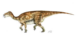 Iguanodon bernissartensis by unlobogris