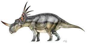 Styracosaurus by unlobogris