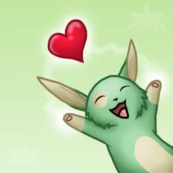 BUNNY HAS LOVE by Dinaria
